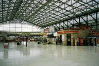 Aberdeen Railway Station in Scotland