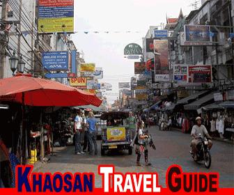 Bangkok Khaosan Road Travel Guide