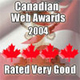 Canadian Web Awards 2004/2005