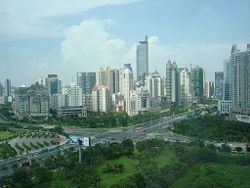 guangxi / Nanning City View