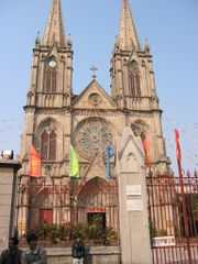 Sacred Heart Cathedral in Guangzhou, Guangdong Province