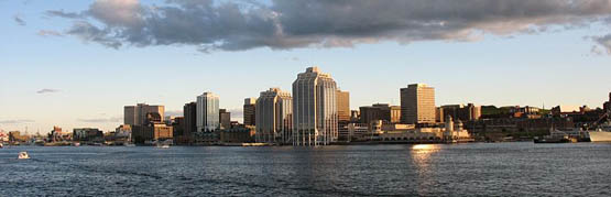 Halifax City in Canada