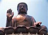 Giant Bronze Buddha in Hong Kong