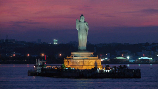 hyderabad buddha in india
