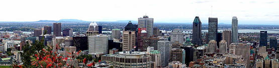 Montreal City, Quebec in Canada