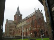 St Magnus' Cathedral in Kirkwall