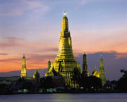 Bangkok Temple of Dawn from Thailand Photo Library